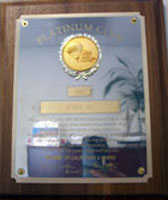 PlatinumClubAward